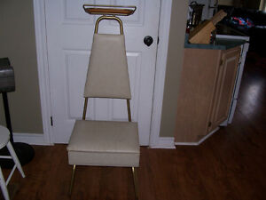 Mid Century Valet Chair With Lift Top Seat For Storage