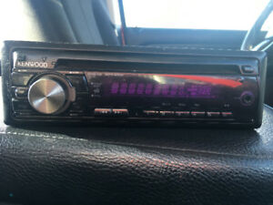 KENWOOD CAR CD WITH AUX.