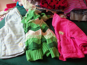 girls size 6-9 months fall /winter clothing