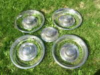 roues+ center caps et rings très propre
