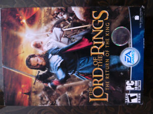 The Lord of the rings and the return of the King PC CD-ROM