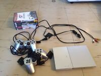 Sony Playstation 2 Slim (Silver)