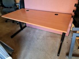 Beech executive office desk