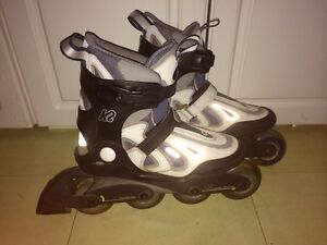 Like new K2 Syncro Rt fit logic rollerblades size 7.5