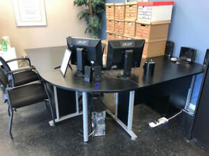 Desk and Chairs for sale