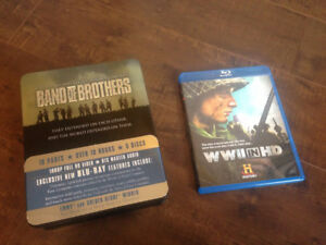 Band of Brothers and WWII in HD combo (Blu-Ray)