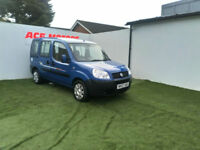 2007 FIAT DOBLO 1.3 MULTIJET16v DIESEL ACTIVE CAMPERVAN ONLY 51000
