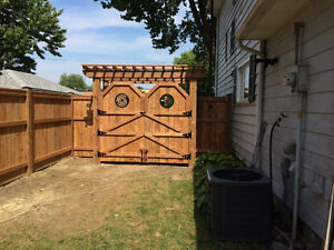 Fence and deck installation Windsor Region Ontario image 9