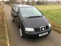 2002 Seat Alhambra 1.9 TDi PD SE - HIGH SPEC - 7 SEATS - FAMILY DIESEL CAR