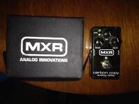 Boxed Mxr Carbon Copy analog delay