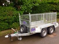 Trailer twin axle 8x4 fully welded type approved tuffmac