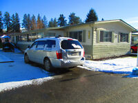 DOUBLE WIDE MOBILE HOME FOR SALE – WEST KELOWNA
