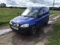 2004 Vauxhall combo 1700 11 month mot. £750 Ono or swap bigger van