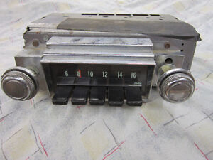 1968 Chevrolet Factory AM Radio $100.00 Holley 750 Carb. $150.00