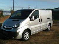 Vauxhall Vivaro 2.0CDTi 115PS SPORTIVE SWB IN MET SILVER LOW MILES