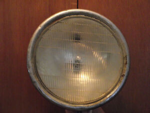 Antique Car Headlamp with TWILITE Glass mid to late 1920's