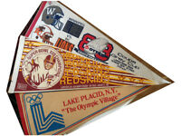 Pennants-Washington Redskins, Grey Cup (Lions-Bombers), Olympics