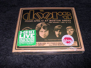 The Doors Live in Boston triple cd Blues Rock Psy neuf & scèllé