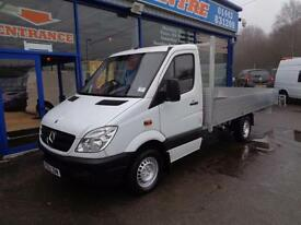 2012 MERCEDES SPRINTER 313 CDI MWB 14FT FLATBED DROPSIDE DIESEL