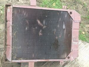 Good radiator that came off a swather