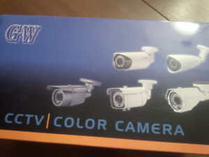 New CCTV camera Model GW-55WD Analog amazing picture