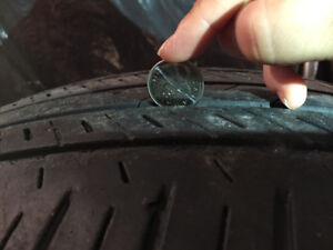 2 Summer tires Bridgestone Dueler H/L
