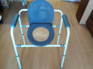 Homecare Commode Chair with Adjustable Height
