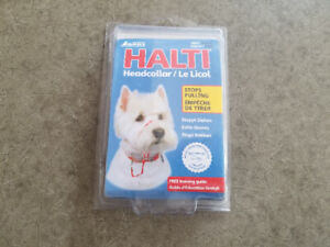 Small dog HALTI - Like New - Great deal