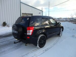 2008 Suzuki Grand Vitara black SUV, Crossover v-6 2.7 ltr