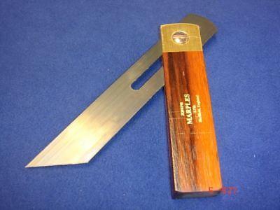 "Joseph Marples Rosewood Carpenters Sliding Bevel 115mm 4.1/2"" Sheffield 20G"