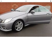 Mercedes e350 coupe only 44000 miles swap only