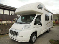Swift Sundance 590RS Motorhome for Sale with rear kitchen and overcab bed