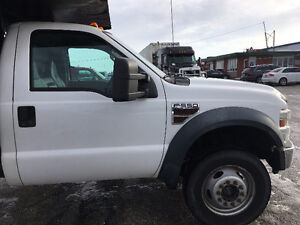 2010 Ford F-550 XL Pickup Truck Diesel 4x4 12 FT Bd Hydraulic Kitchener / Waterloo Kitchener Area image 6