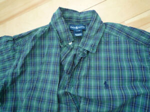 5 Polo Ralph Lauren button-down shirts, 1 button-down shirt GAP