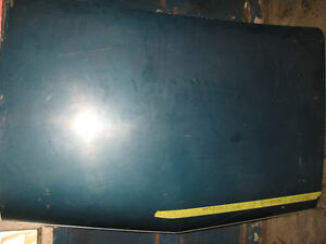 1966-67 Chevelle SS trunk lid, nice condition, sell trade London Ontario image 1