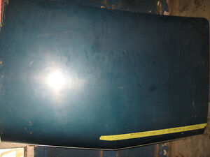 1966-67 Chevelle SS trunk lid, nice condition, sell trade