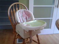 Booster seat high chair