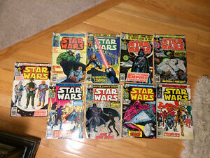 Star Wars (Marvel Comics) - 1980 to 1981 - 9 comics for only $60