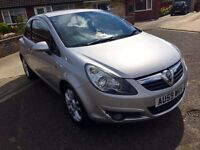 For sale Vauxhall Corsa 1.4 sxi £3,300 , 12 months MOT, passed with no advisories.
