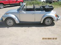 1974 volkswagon super beetle convertible all original
