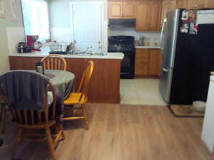 Share a large bungalow unit with one other tenant
