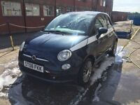 Bargain fiat 500 diesel 1 owner, only £20 road tax, great MPG