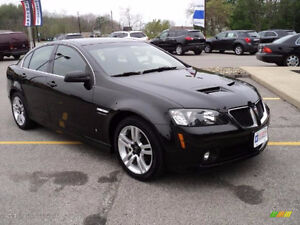 2009 Pontiac G8 Base or GT - Low KM