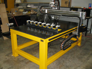 Wanted cnc router with 4x4 vacuum table and auto tool changer