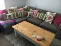 John Lewis Cooper Right Facing Corner sofa just 6 months old, as new