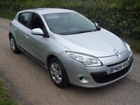 2009 09 Renault Megane 1.6 VVT ( 100bhp ) Expression , Only 37,000 Miles