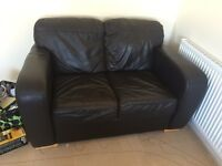 Leathers couches 2 seater and 3 seater FREE