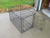 COLLAPSIBLE ANIMAL CAGE FOR SALE