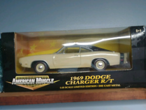 Diecast cars 1:18 scale, prices listed