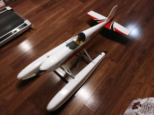 Rc airplane Meridian 10cc electric WITH FLOATS